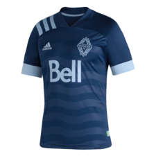 adidas 20/21 Vancouver Whitecaps Away Jersey Youth - Deep Sea