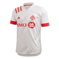adidas 20/21 Toronto FC Away Jersey - Grey/Red