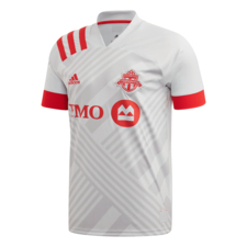 adidas Toronto FC Away Jersey - Grey/Red