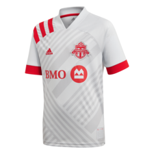 adidas 20/21 Toronto FC Away Jersey Youth - Grey/Red