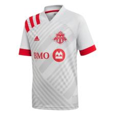 adidas 20/21 Toronto FC Away Jersey Youth - Grey/Red