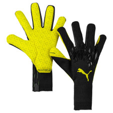Puma Grip 19.1 Goalkeeper Gloves - Black/Yellow
