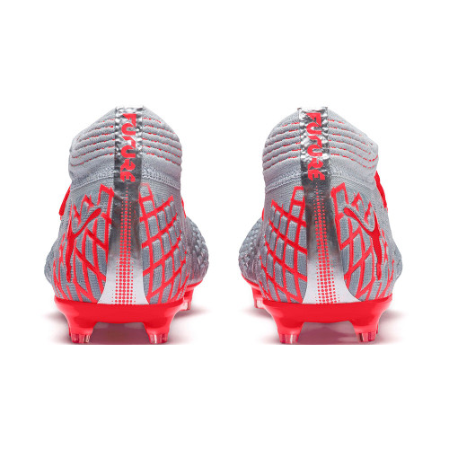 Puma FUTURE 4.1 NetFit Firm Ground Boots - Blue/Red