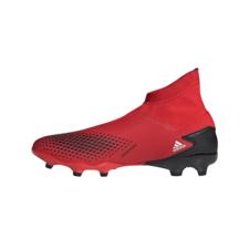 adidas Predator 20.3 Firm Ground Boots - Red/White/Black