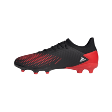 adidas Predator 20.3 Firm Ground Boots - Black/White/Red