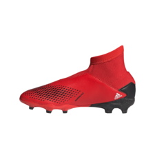 adidas Jr Predator 20.3 LL Firm Ground Boots - Red/White/Black