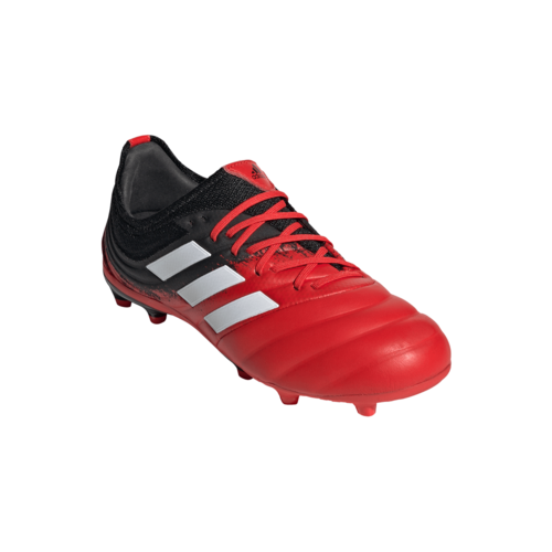 adidas Copa 20.1 Firm Ground Boots Junior - Red/White/Black