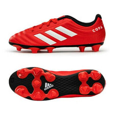 adidas Jr Copa 20.4 Firm Ground Boots - Red/White/Black