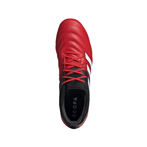 adidas Copa 20.1 Firm Ground Boots - Red/White/Black