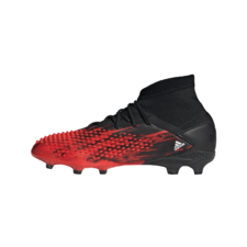 adidas Predator Mutator 20.1 Firm Ground Boots Junior - Black/White/Red