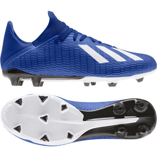 adidas X - 19.3 Firm Ground Boots - Blue/White/Black