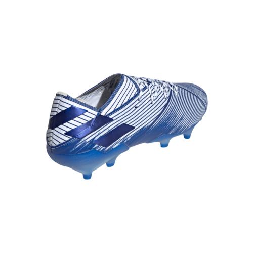 adidas Nemeziz 19.1 Firm Ground Boots - White/Blue/Blue