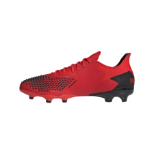 adidas Predator 20.2 Firm Ground Boots - Red/White/Black