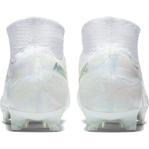 Nike Mercurial Superfly 7 Elite Firm Ground Boots - White/White