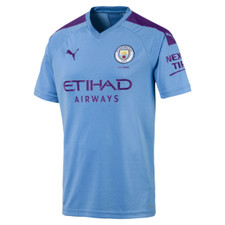 Puma Jr Manchester City Home Shirt Replica 19/20