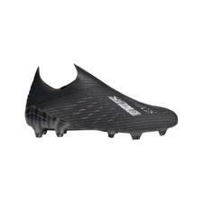 adidas X 19+ Firm Ground Boots - Black/Silver