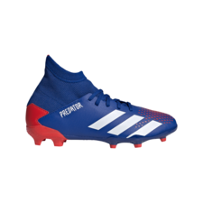 adidas Jr Predator 20.3 Firm Ground Boots - Blue/White/Red