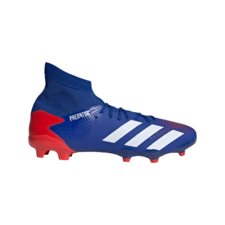 adidas Predator 20.3 Firm Ground Boots - Blue/White/Red