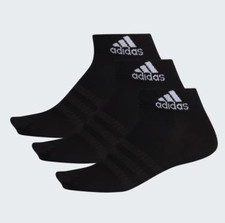 adidas Light Ankle Sock 3 Pairs - Black