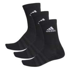 adidas Cushion Crew Sock 3 Pairs - Black