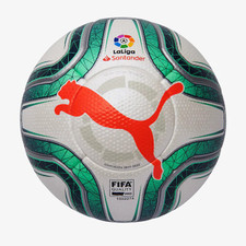 Puma La Liga 1 Official Ball (FIFA Quality Pro) - White/Gibraltar Sea/Nrgy Red