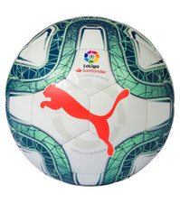 Puma La Liga 1 Mini Ball - White/Green/Red