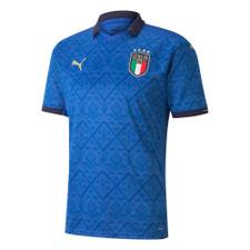 Puma Italy FIGC Home Shirt Replica JR - Blue