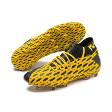 Puma Future 5.1 Netfit Firm Ground Boots - Yellow/Black