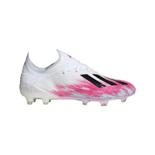 adidas X 19.1 Firm Ground Boots - White/Black/Pink