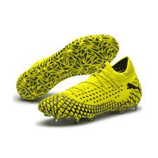 Puma Future 4.1 Netfit Firm Ground Boots - Yellow/Black