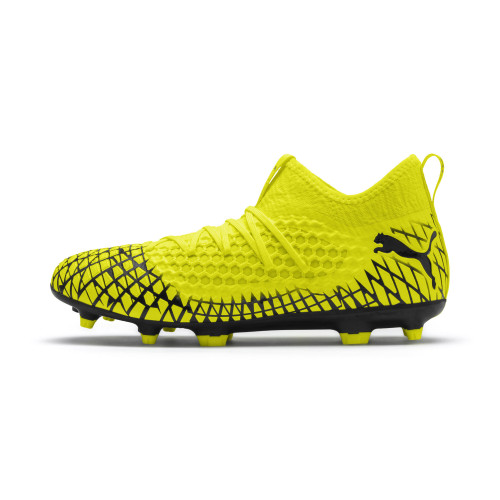 Puma Future 4.3 Netfit Firm Ground Boots - Yellow/Black