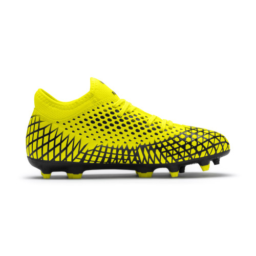 Puma Future 4.4 Firm Ground Boots JR - Yellow/Black