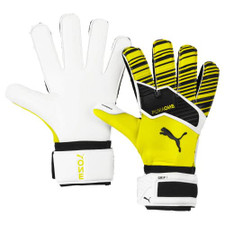 Puma ONE Grip 1 RC Goalkeeper Gloves - Yellow/Black/White