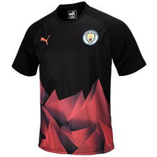 PUMA Men's Manchester City Stadium Intro Jersey 2019-20