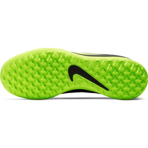 Nike Jr. Phantom Venom Club Artificial Turf Boots - Black/Volt