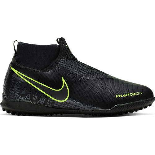 Nike Jr. Phantom Vision Academy Dynamic Fit Artificial Turf Boots - Black