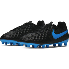 Nike Jr Tiempo Legend 8 Club Firm Ground Boots - Black/Blue