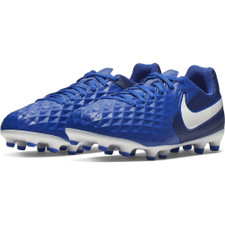 Nike Jr Tiempo Legend 8 Club Firm Ground Boots - Blue/White