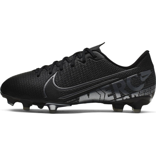 Nike Jr Vapor 13 Academy Firm Ground Boots - Black/Grey