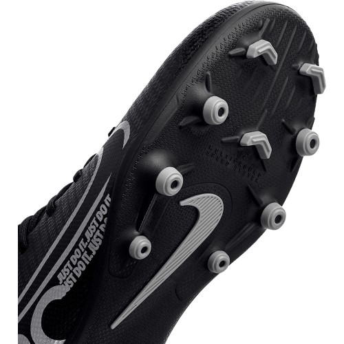 Nike Jr. Mercurial Superfly 7 ClubFirm Ground Boots - Black/Grey
