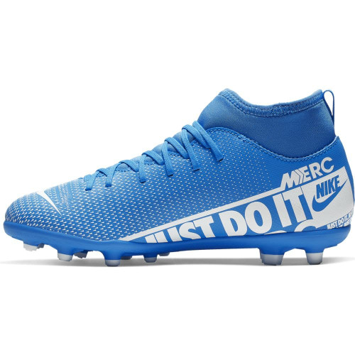 Nike Jr Mercurial Superfly 7 Club Firm Ground Boots - Blue/White