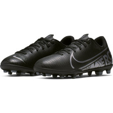 Nike Jr Mercurial Vapor 13 Club Firm Ground Boots - Black/Grey