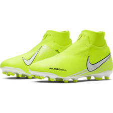 Nike Jr Phantom VSN Elite Dynamic Fit Firm Ground Boots - Green/White