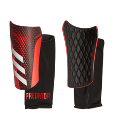 adidas Predator 20 League Shin Guards - Black/Red