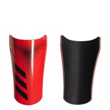 adidas Predator 20 Club Shin Guards - Black/Red