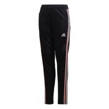 adidas Girls' Tiro 19 Pants Youth Girls - Black/Pink/Yellow