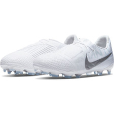 Nike Jr. Phantom Venom Elite Firm Ground Boots - White