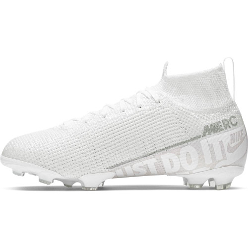 Nike Jr Superfly 7 Elite Firm Ground Boots - White