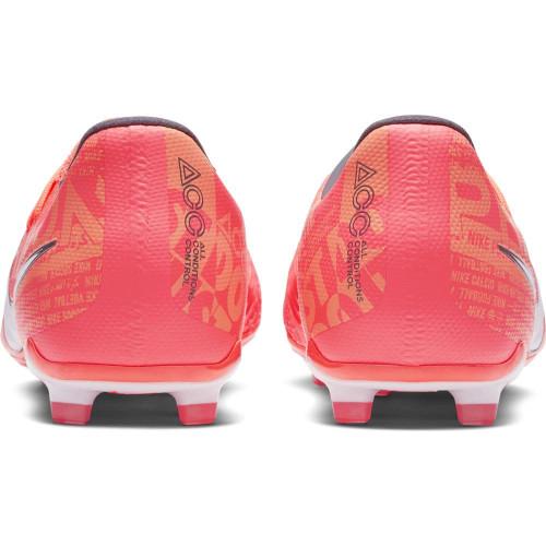 Nike Jr Phantom Venom Elite Firm Ground Boots - Mango/White/Orange