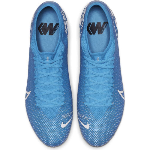 Nike Mercurial Vapor 13 Pro Firm Ground Boots - Blue/White